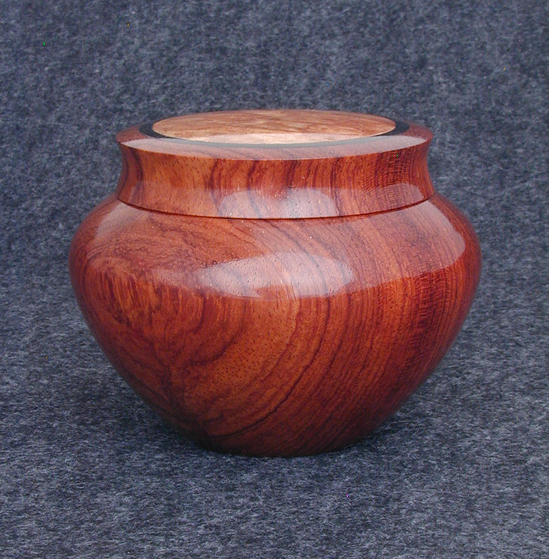 Bubinga Box with inlay