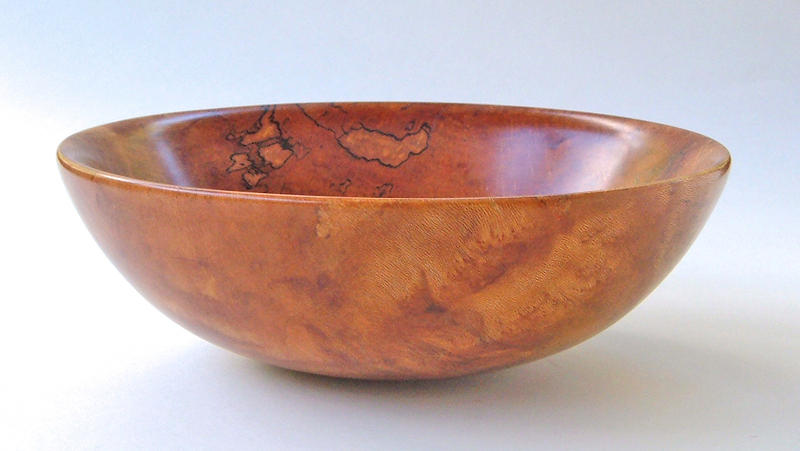 Sycamore Burl Bowl Side