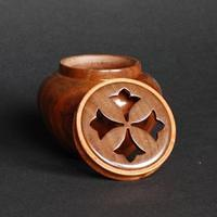 Walnut Potpuurri Box open