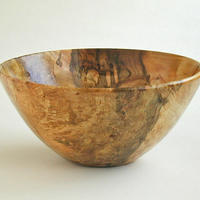 Spalted Beech Burl Bowl
